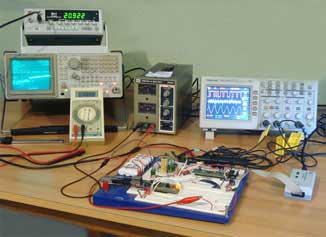 Electrosoft Engineering Test and Measurement Instruments photo. Custom Electronic Design Services