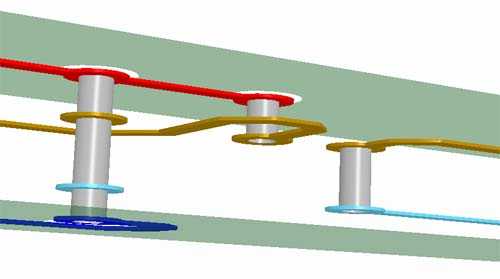 掩埋通孔-印刷电路板概念PCB