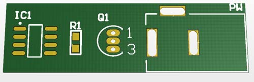 pads - printed circuit board concepts PCB