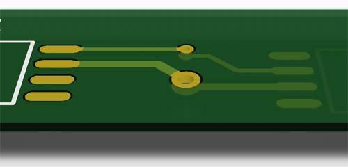 通孔-印刷电路板概念PCB